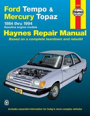 Ford Tempo and Mercury Topaz 1984-1994