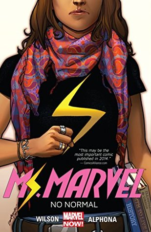Review: Ms. Marvel, Vol. 1: No Normal by G. Willow Wilson