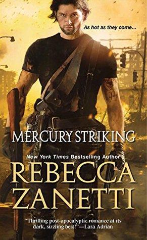 Review: Mercury Striking by Rebecca Zanetti (@mlsimmons, @RebeccaZanetti)