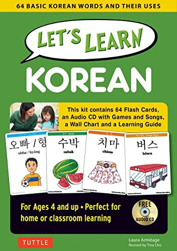 Let's Learn Korean Kit: 64 Basic Korean Words and Their Uses
