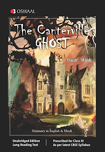 The Canterville Ghost Summary in English & Hindi for Class 11