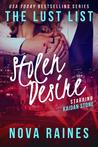 Stolen Desire (The Lust List: Kaidan Stone #3)