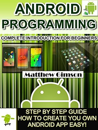 android programming book for beginners pdf
