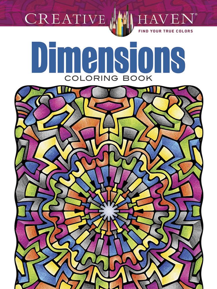 Creative Haven Dimensions Coloring Book