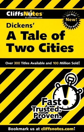CliffsNotes Dickens' A Tale of Two Cities
