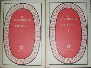 Critice (vol. I-II)