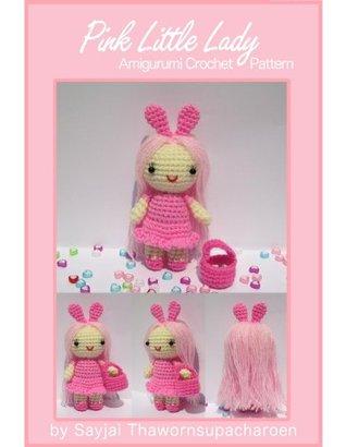 Pink Little Lady Amigurumi Crochet Pattern