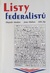 Listy federalistů by Alexander Hamilton