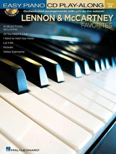 Lennon & McCartney Favorites: Easy Piano CD Play-Along Volume 24
