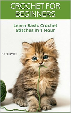 CROCHET FOR BEGINNERS: Learn Basic Crochet Stitches in 1 Hour: