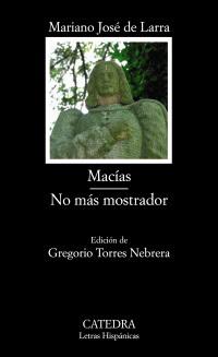 Macías - No más mostrador by Mariano José de Larra