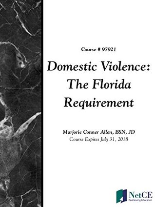 Domestic Violence: The Florida Requirement