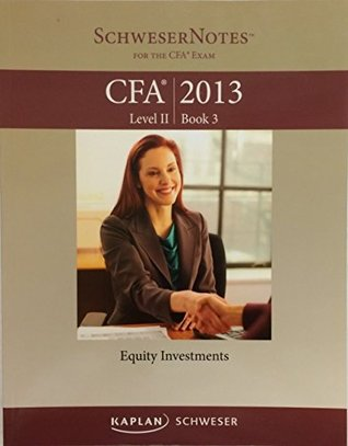 Kaplan Schweser Notes CFA 2013 Level 2 Book 3 - Equity Investments