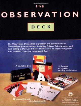 The Observation Deck: A Tool Kit for Writers