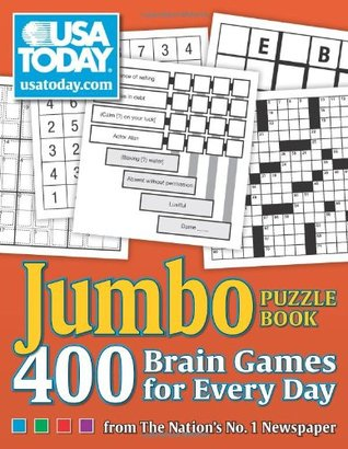 USA Today Jumbo Puzzle Book: 400 Brain Games for Every Day by USA Today