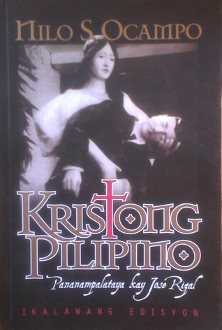 reaction rizal as kristong pilipino Life of jose rizal jose rizal, the national hero of the philippines and pride of the malayan race, was born on june 19, 1861, in the town of calamba, laguna he was the seventh child in a family of 11 children (2 boys and 9 girls.