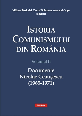 Istoria comunismului din România: documente: Nicolae Ceaușescu (1965-1971)