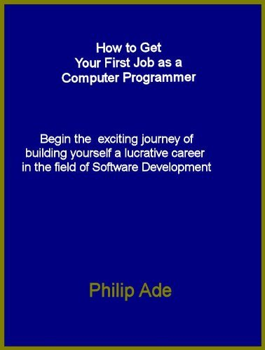 How To Get Your First Job as a Computer Programmer