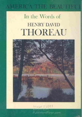 America the Beautiful in the Words of Henry David Thoreau
