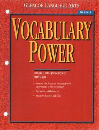 Glencoe Language Arts Vocabulary Power (Vocabulary Power Grade 7)