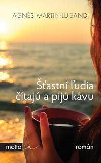 Šťastní ľudia čítajú a pijú kávu