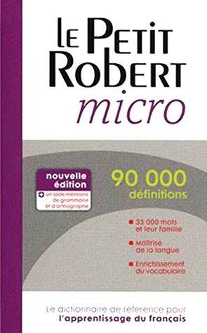 Le Petit Robert Micro 2014