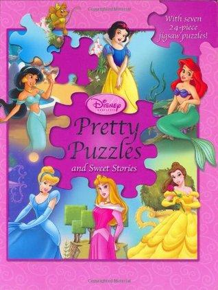 Disney Princess Pretty Puzzles by Lara Bergen