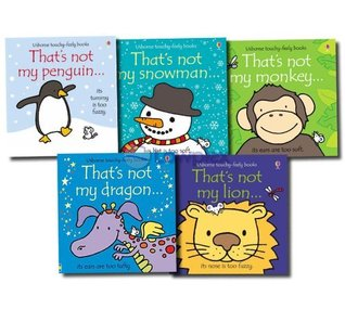 That's Not My... 5 Books Collection Set touchy-feely Pack (Dragon, Tiger, Frog, Teddy, Lion) (That's Not My...)