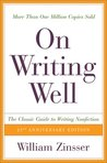 On Writing Well: ...