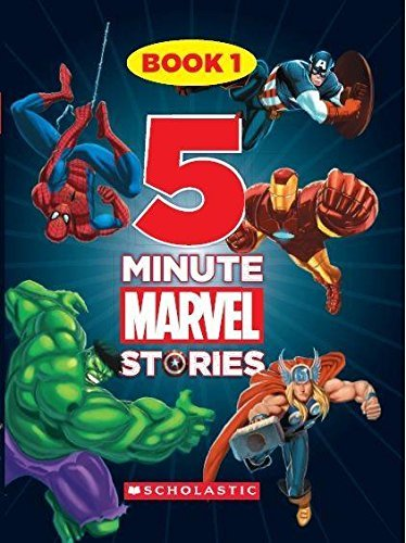 5 Minute Marvel Stories Book
