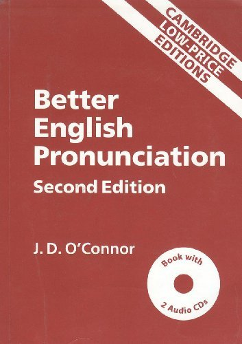 Better English Pronunciation 2Nd Ed With 2Audio Cds