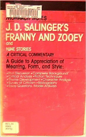a comparison of j d salingers works in the catcher in the rye and nine stories