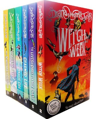 Diana Wynne Jones Chrestomanci 6 Books Collection (Chrestomanci, #1-6)