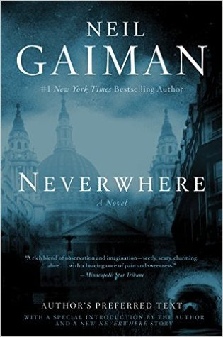 book cover: Neverwhere by Neil Gaiman