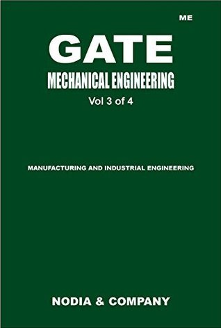 GATE Mechanical Engineering Vol 3 (GATE 2014 Mechanical by NODIA 4 Volume Set)