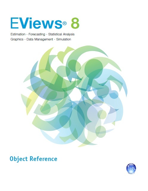 EViews 8. Object Reference