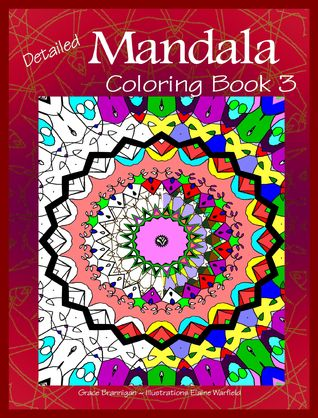 Detailed Mandala Coloring Book 3 (Mandala Coloring Books)