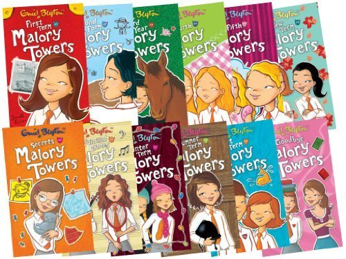 Malory Towers Collection - 12 Books, RRP £59.88 (First Term; Second Form; Third Year; Upper Fourth; In the Fifth; Last Term; New Term; Summer Term; Winter Term; Fun and Games; Secrets; Goodbye)