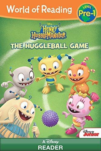 World of Reading: Henry Hugglemonster: The Huggleball Game: Level Pre-1 (World of Reading (eBook))