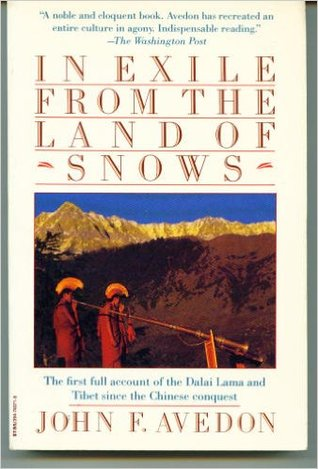 In exile from the land of snows par John Avedon