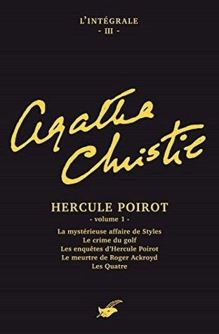 Intégrale Hercule Poirot volume 1