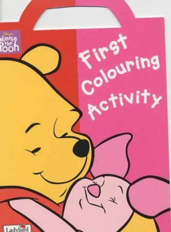 Winnie the Pooh First Colouring Activity Book: Dot to Dot Book