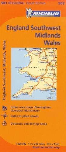 Wales/West Country/Midlands (Maps/Regional