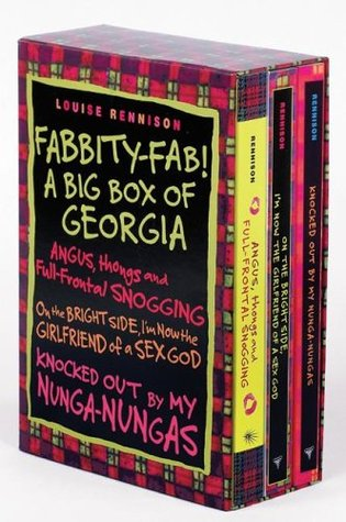 Fabbity-Fab! A Big Box of Georgia by Louise Rennison
