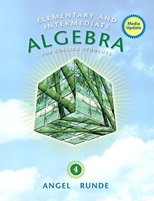 Elementary and Intermediate Algebra for College Students, Media Update, (2 downloads) (4th Edition)