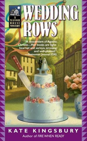 Wedding Rows (Manor House Mystery #8)