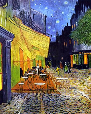 "Counted Cross Stitch Pattern: ""Cafe Terrace At Night"" by Vincent Van Gogh (The Great Artists Series)"