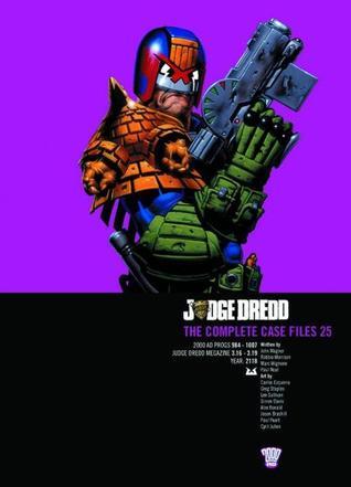 Judge Dredd: The Complete Case Files Vol.25