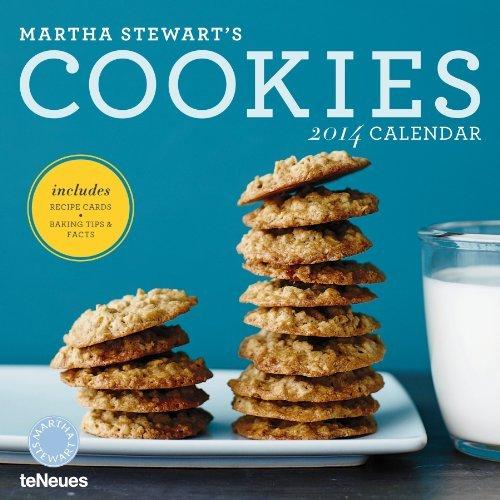 2014 Martha Stewart's Cookies Wall Calendar