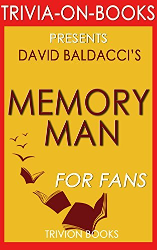 Trivia: Memory Man by David Baldacci (Trivia-On-Books)